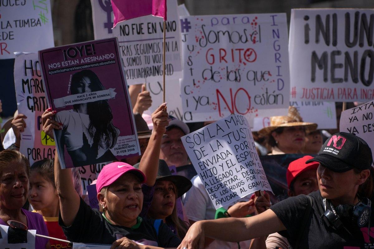 Mujeres unen su voz con reclamo de alto a la violencia y la impunidad  Crónica