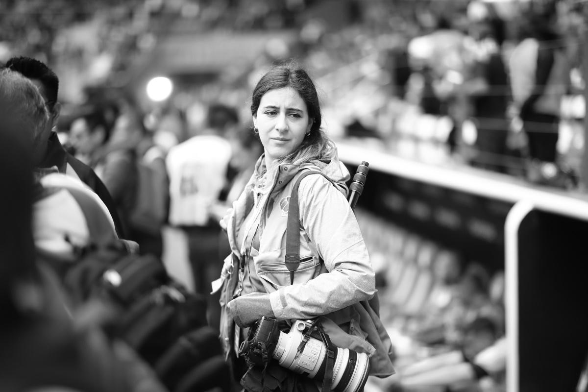 Eloisa Sánchez de Alba: una mirada a las entrañas de una fotógrafa dedeportes